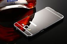 Luxury Shockproof Aluminum Metal Bumper PC Mirror Case Cover For Samsung iPhone
