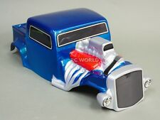 For Axial SCX10  BODY SHELL 1/10 Monster HOT ROD  Rock Crawler 313mm  -BLUE