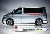 VW Side Stripes Decals Transporter T4 T5 T6 Campervan Stickers Volkswagen 4