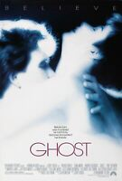 GHOST Patrick Swayze Demi Moore Classic Rare Rolled 27x40 ORIGINAL MOVIE POSTER