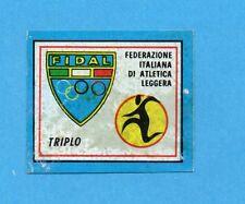 CAMPIONI SPORT 1969-70-PANINI-Figurina-5 B- TRIPLO -Stemmino/Badge-Rec