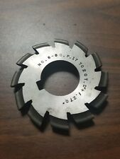 "Used B&S No. 6-8DP Involute Gear Cutter HS 17-20T .270"" Bore 1D-1143-Y1"