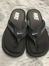 b716bcc800a0 Nike Men s Black Comfort Footbed Thong Sandals Size 7 M Flip Flop