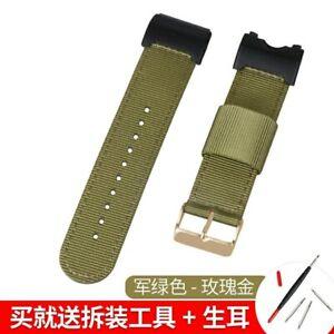 Nylon Watch Band for G-Shock Mudmaster GWG1000-1A GWG-1000 Strap Wrist Bracelet