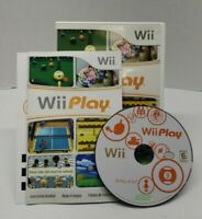 Wii Play Game Nintendo Wii Games Multi Sports Complete with Manual Excellent