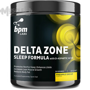 BPM Labs Delta Zone - 30 Serves CHOOSE FLAVOUR - Anabolic Power Sleep Matrix