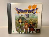 Dragon Quest VII / Dragon Warrior VII - PlayStation / PS1 PSX Japan import