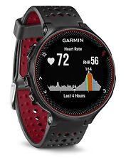Garmin Forerunner 235 GPS Deporte/Correr Reloj con Monitor de frecuencia cardíaca (Negro/Rojo) NUEVO