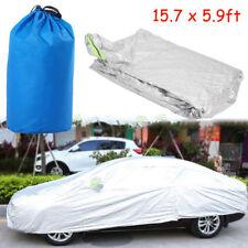 Aluminum Coating Full Car Cover Outdoor Waterproof Sun UV Dust Rain Protection