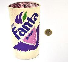 Coca Cola Fanta Cup Stickers USA 1990 Sticker - Enjoy fanta Grape
