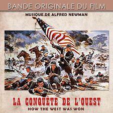 CD How The West Was Won (La Conquête de l'Ouest) - Alfred Newman - BOF - OST