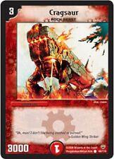 Duel Master TGC Cragsaur DM10 Shockwaves of the Shattered Rainbow