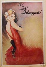Schweppes - Blechschild 40x60cm Poster Plakat Tonic Reklame Werbung Werbeschild