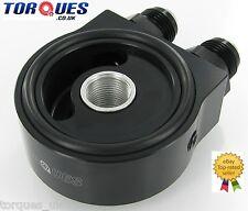 Torques Universal Oil Sandwich Plate Kit In Black (AN-10 JIC-10) 3/4 UNF/M20x1.5