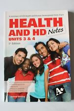 A Summary of VCE Health and Health Development Notes Units 3 & 4 1E