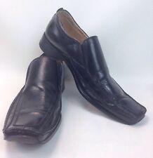 Giorgio Brutini Leather Dress Loafers Men's Size 10.5 M Black