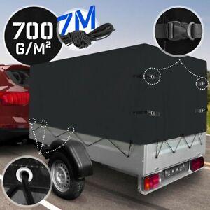 Jago® Hochplane für Stema 700g/m2 PKW Anhängerplane Abdeckplane F750 DBL 750 850