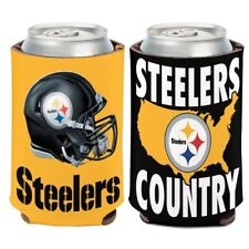 PITTSBURGH STEELERS COUNTRY NEOPRENE CAN BOTTLE KOOZIE COOZIE COOLER HOLDER