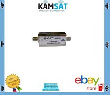 Professional Satellite In-Line Amp 20dB SAC Receiver powered satellite BOOSTER