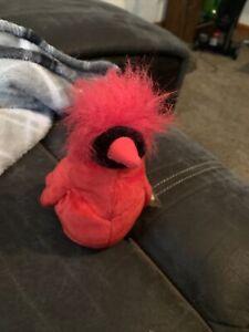 Ty Beanie Babies Mac The Cardinal Plush Toy