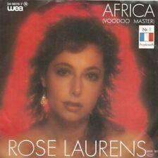 Rose Laurens - Africa (Voodoo Master) / Broken Heart (Vinyl-Single 1983) !!!