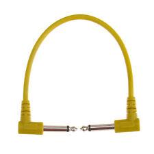 Link 6Pcs/Set Pedals Guitar Patch Cables Audio Patch Guitar Cables Bass Effect