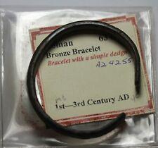 Ancient Roman Empire Bronze Bracelet Simple Design 1st-3rd Century AD