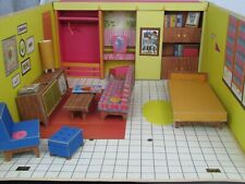 Vintage 1962 Barbie Cardboard Dream House Furniture Accessories Mattel