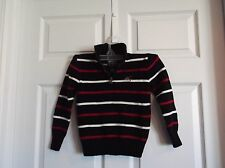 EUC American Living boys 5 sweater, black/red/white. perfect for twins you get 2