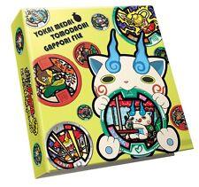 New Yokai Yo-kai Youkai Watch Komasan Medal Binder Holder File Book Bandai