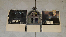 vintage FRIGHT NIGHT & THE BRIDE combo video store counter display small standee