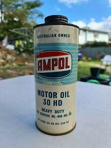 RARE Ampol Motor Oil Tin 1 Quart