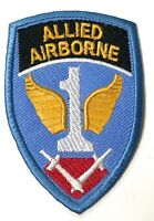 WWII US AIRBORNE PARATROOPER 1ST ALLIED JUMP JACKET SLEEVE INSIGNIA PATCH