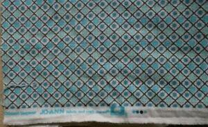"Vintage Cotton Flannel Fabric 2 1/3 Yard X 43"" Classic Western DESIGN Sew Jo-Ann"