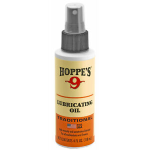 HOPPES Gun LUBE OIL Pump Spray for Pistol, Rifle, Shotgun Lubrication - 4oz