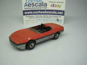 1/64 Matchbox USADO USED REF 120 Chevrolet Corvett 1/56 cochesaescala