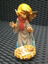 More details for fontanini 1988 e simonetti angel with baby jesus, vgc