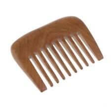 Pettine in legno Capelli Pick Largo Tooth Pocket Pettine Capelli Capelli