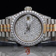 Rolex Lady Datejust tridor 18k Gold original brillante + esfera ref 69159