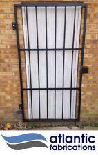 Steel security  door /gate  2mtr x 1.1mtr powder coated black