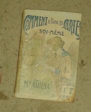 Mme ATHENA. Comment se Tirer les cartes soi-même. Librairie des Romans Choisis.