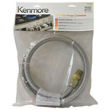 "Kenmore 22-49698 / 2249698 5ft Gas Range Connector Hose 1/2"" MIP NEW 49698"