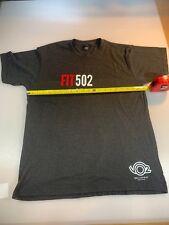 Tultex Fit 502 Vo2 Multisport Casual Tri T Shirt Large L (6560-2)