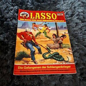 LASSO Nr. 545 Die Gefangenen der Schlangenkrieger, schöner BASTEI Western-Comic