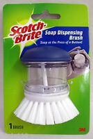 3M Scotch Brite SOAP DISPENSING BRUSH, Model 495, New