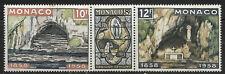 Monaco, MNH, #416-#418, Apparation of the Virgin Mary Centenary, CV = $3.50
