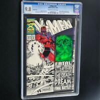 X-MEN #25 (1993) 💥 CGC 9.8 💥 Black & White Partial Sketch Variant **RARE**