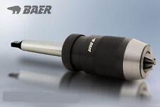 Bohrfutter 0,5 - 16 mm mit Kegeldorn MK1 BAER-Präzisions Schnellspannbohrfutter