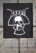 DOOM Patch Nausea Discharge Filth Anti-Cimex Aus-Rotten Amebix Crust Punk Crass