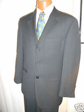 HUGO BOSS BLACK LABEL BLACK  EINSTEIN Suit  SIZE 40 R  From GERMANY..!!